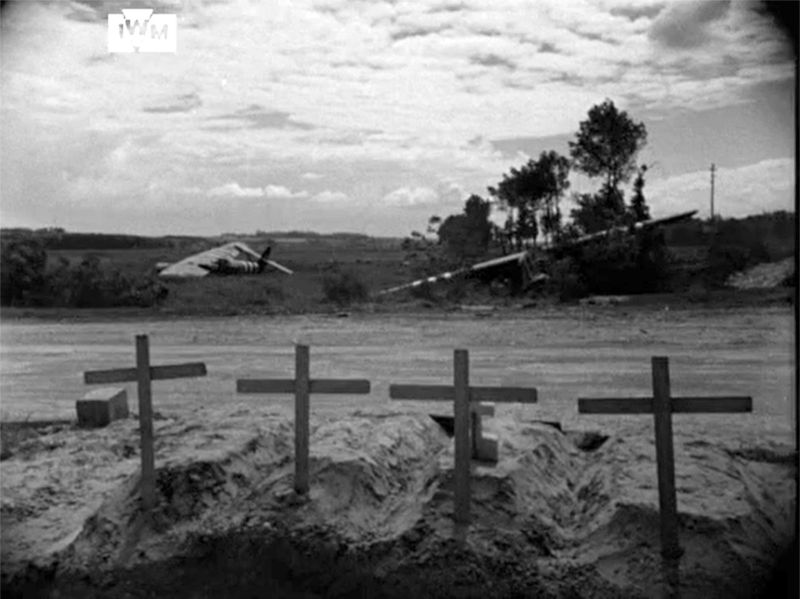 Graves looking towards Caen